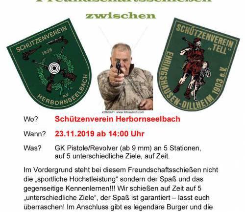 Freundschaftsschießen HBS vs. Ehringshausen am 23.11.2019